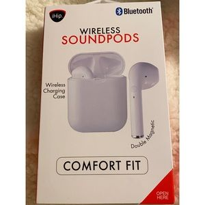 Other - NEW Bluetooth Wireless Sound Pods Comfort Fit